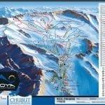 Estaciones de Esquí, snow, ski, esquiar, fiesta en américa - La Hoya Mapa
