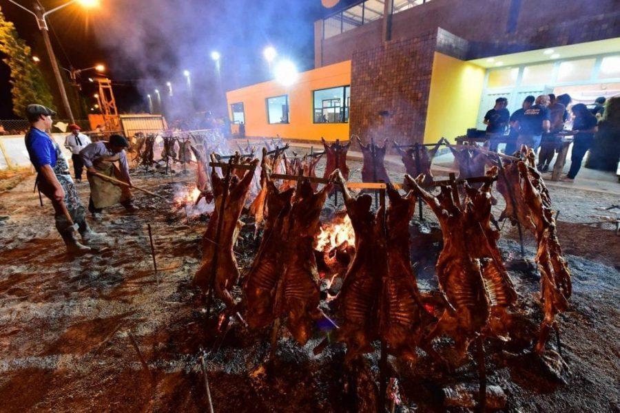 Cordero en la Expo, Fiesta de la Nieve, bariloche, patagonia, defiestaenamerica.com