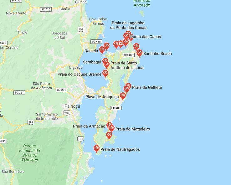 mapa playas de floripa, florianopolis mapa, mapa playas de floripa