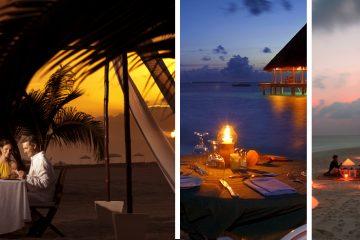 cena romántica en la playa, cena en la playa romantica, cena de fin de año en la playa, como preparar una cena romantica en la playa