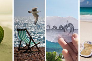 fotos de vacaciones en familia, fotografia familiar, foto en la playa, decorar con fotos vacaciones, como tomar fotos en vacaciones