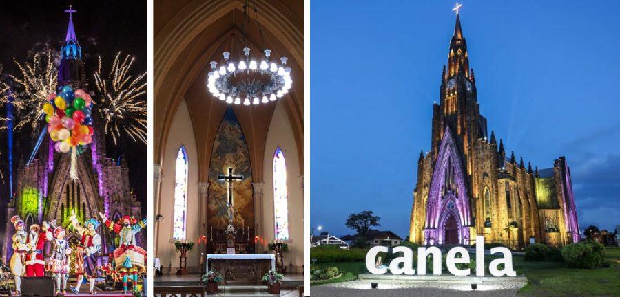 canela, canela y gramado, canela brasil, canela rs, Nossa Senhora de Lourdes