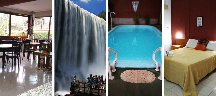 Petit Hotel Panambi - Puerto Iguazú, hotel barato iguazu