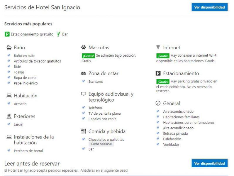 hotel san ignacio, san ignacio hotel, ruinas de san ignacio