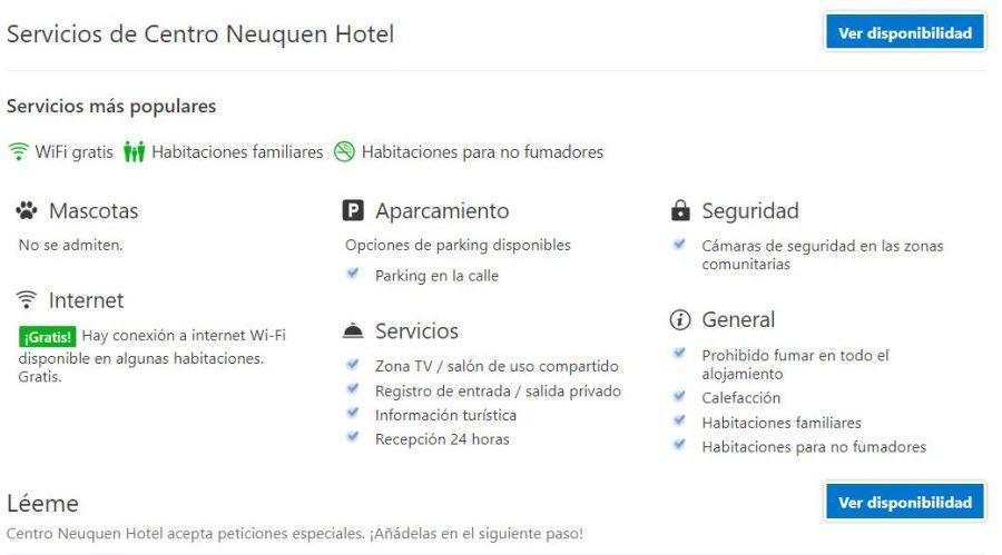 Centro Neuquen Hotel, alojamiento en neuquen, alojamiento patagonia, hotel barato neuquen