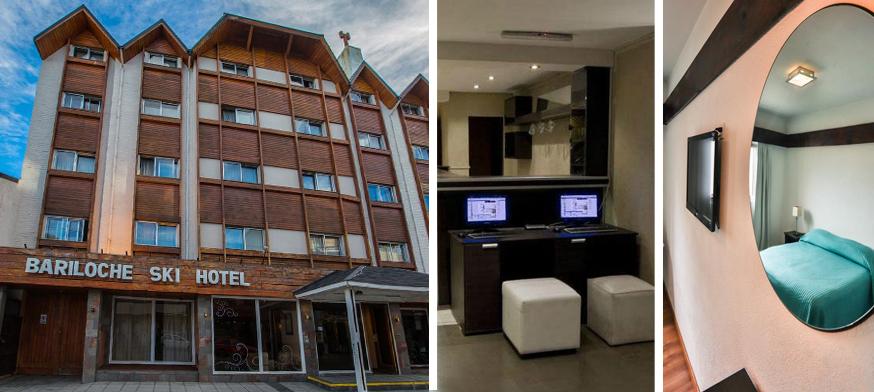 Hotel Bariloche Ski, alojamiento en bariloche, hotel en bariloche, hotel barato en bariloche