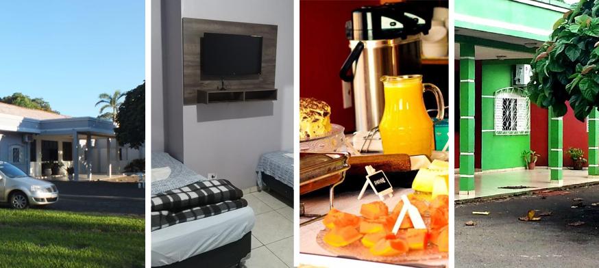 Hotel Sinhá Moça, alojamiento en foz, hotel en foz de iguazu, hotel barato en foz