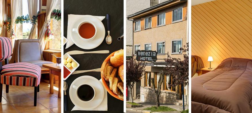 Hotel Venezia, alojamiento en bariloche, hotel en bariloche, hotel barato en bariloche