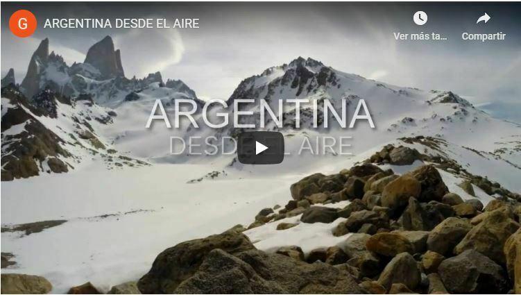 argentina video, 4k, ARg desde el Aire, patagonia