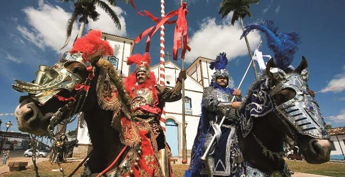 Festa do Cavalhadas, fiestas en Goiás brasil