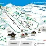 Estaciones de Esquí, snow, ski, esquiar, fiesta en américa-Batea Mahuida Mapa