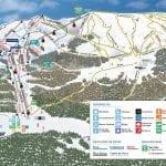 Estaciones de Esquí, snow, ski, esquiar, fiesta en américa - Cerro Bayo Mapa