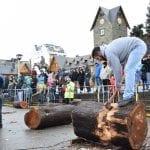 Concurso de Hacheros, Fiesta de la Nieve, bariloche, patagonia, defiestaenamerica.com