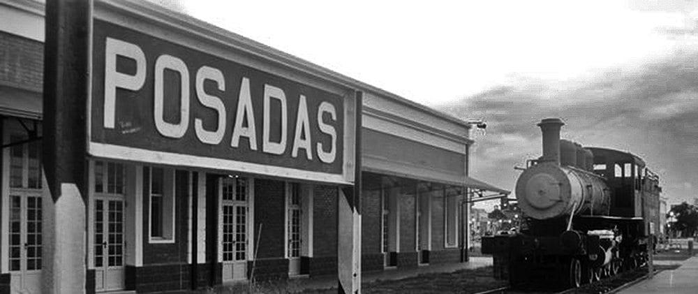 Antigua Estación de trenes Posadas defiestaenamerica.com