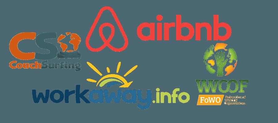 CouchSurfing, alojamiento argentina, alojamiento brasil, cabañas, hoteles