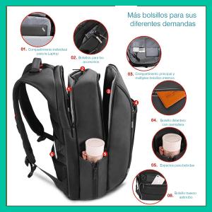 mochilas, nomad, Nomad Backpack Precios, seguridad en mochilas