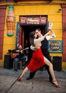 La Boca, Barrio de tango, Buenos Aires