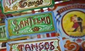 San Telmo, Barrio de tango, Buenos Aires