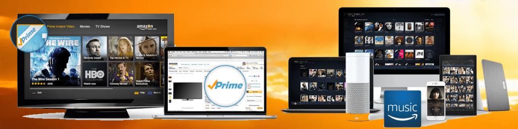 Amazon Music, Amazon Kindle, Amazon Prime, defiestaenamerica.com