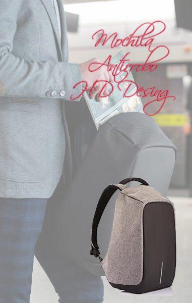 Mochila antirrobo Bobby backpack - Seguridad para tus viajes