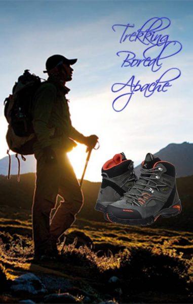 Zapato de trekking Boreal Apache - Cómodas excursiones