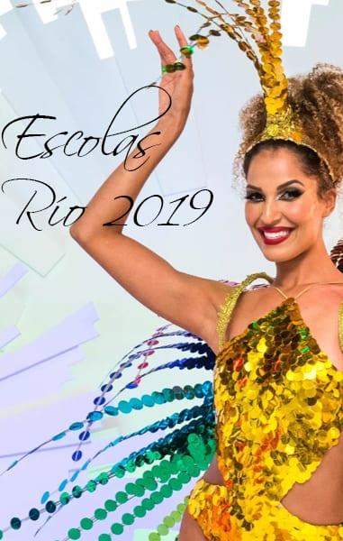 ▷ Escolas, Letras y Canción Oficial CARNAVAL de RIO de JANEIRO 2019