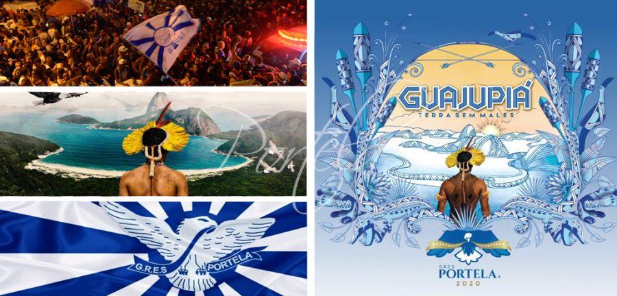 portela, portela carnaval, sambas de enredo, carnaval de rio, carnaval brasil, carnival 2020, escola de samba portela, guajupia portela