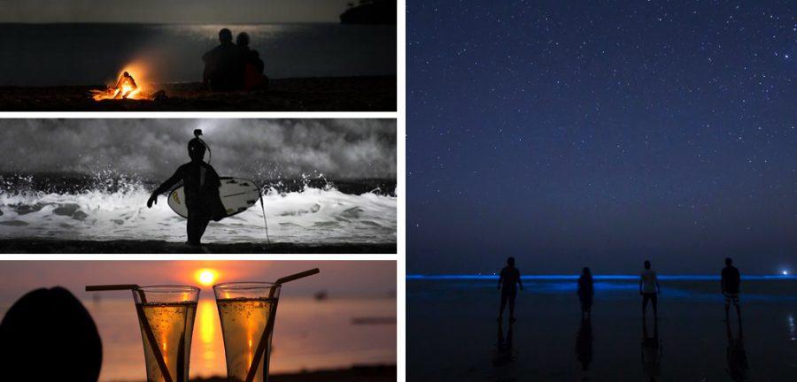 Playa de Noche, cenas en la playa, baile en la playa, playas a la noche, beach nigth, vacaciones en la playa, brasil de noche, que hacer de noche en la playa, defiestaenamerica.com